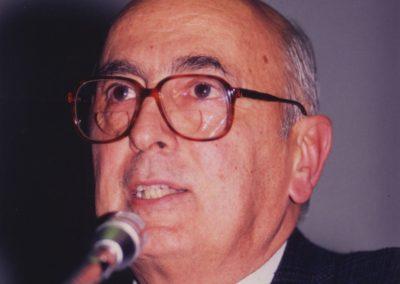 """Convegno Internazionale. """"Prospettive della Pace in Medio Oriente"""".16 Novembre 1989. Milano, Sala Alessi, Palazzo Marino. L'intervento  di Giorgio Napolitano."""
