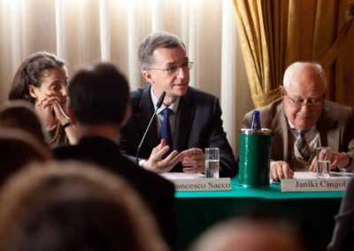 Pierfrancesco Sacco, Capo Unità Analisi, Programmazione e Documentazione Storico-Diplomatica del Ministero degli Affari Esteri