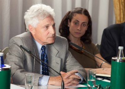 Mark. A. Heller, principal research associate all'INSS –Institute for National Security Studies di Tel Aviv