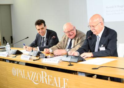 Giuseppe Perrone, Janiki Cingoli, Roberto Toscano