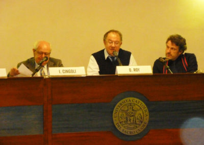 Janiki Cingoli, Olivier Roy, Vittorio Emanuele Parsi