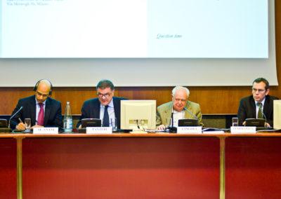 Lapo Pistelli, Olivier Roy, Alberto Negri,Janiki Cingoli