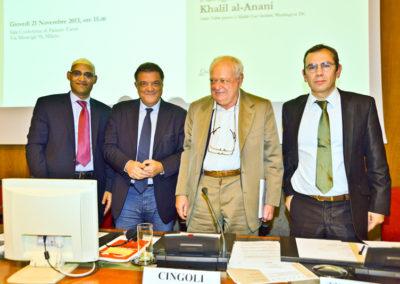 Khalil al-Anani, Antonio Panzeri, Janiki Cingoli, Heliodoro Temprano Arroyo