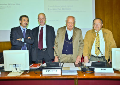 Leonardo Bellodi, Lapo Pistelli, Janiki Cingoli, Olivier Roy