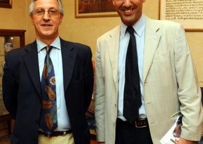 Giorgio Acquaviva e Marcello Foa
