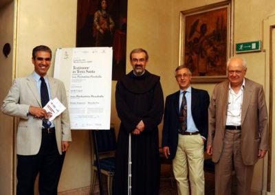Testimone in Terra Santa. Padre Pierbattista Pizzaballa, Janiki Cingoli, Giorgio Acquaviva, Marcello Foa