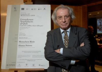 Antonio Ferrari, editorialista e inviato speciale del Corriere della Sera.