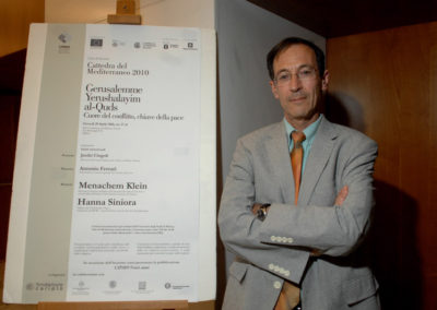 Menachem Klein, professore di Scienze Politiche all'Università Bar-Ilam di Tel Aviv e research fellow all'Istituto Universitario Europeo di Firenze