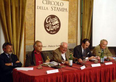 Gian Giacomo Migone, Alberto Negri, Bijan Zarmandili, Janiki Cingoli, Federico Maria Bega