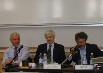 Leonardo Maugeri, Luigi De Paoli, Alberto Negri