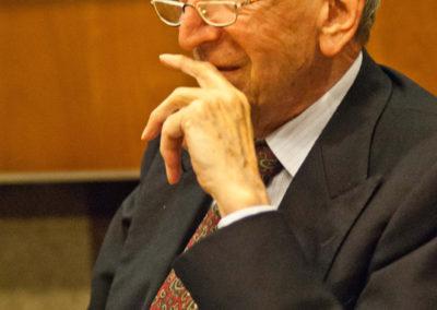 Sergio Romano, già ambasciatore, editorialista del Corriere della Sera