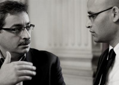 Hussam Itani e Khalil el-Anani