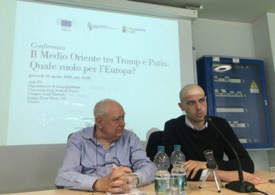 Dario Fabbri e Janiki Cingoli