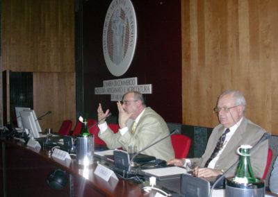 Manuel Hassassian,  Menachem Klein, il Sen. Livio Caputo, Gianni Vaggi