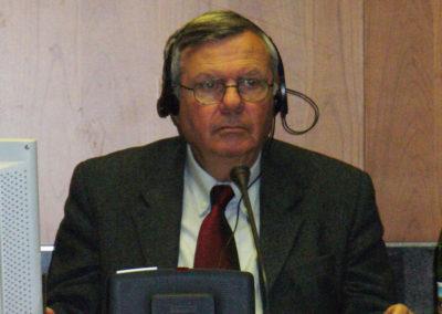 Danny Rubinstein, editorialista del quotidiano israeliano Haaretz e Docente di Storia del Medio Oriente all'Università Ben Gurion di Tel Aviv