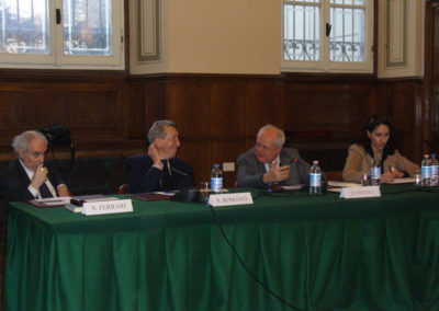 Silvio Ferrari, Sergio Romano, Janiki Cingoli e Farian Sabahi,