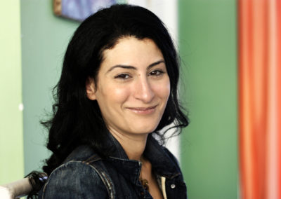Shahira Abu Leil, attivista egiziana, portavoce del movimento No to Military Trials for Civilians (No ai Tribunali Militari per i Civili), che lotta contro i processi militari in atto contro migliaia di attivisti egiziani