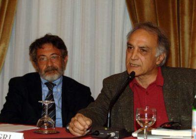 Alberto Negri e Bijan Zarmandili