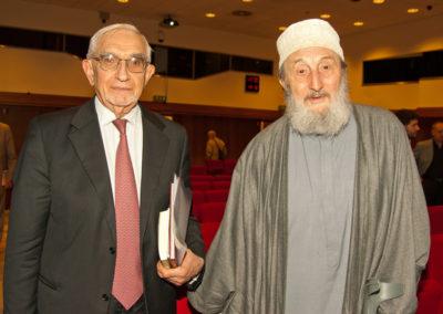 Giuseppe Guzzetti con Abd al-Wahid Pallavicini