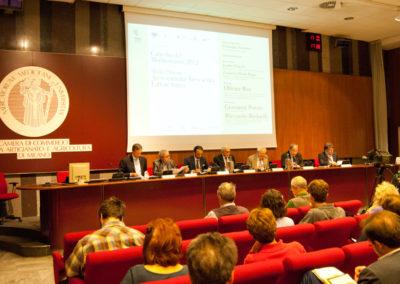 """Medio Oriente: Arco sunnita, Arco sciita, Fattore turco. """"Cattedra del Mediterraneo 2012"""" Sala Conferenze di Palazzo Turati, Milano"""