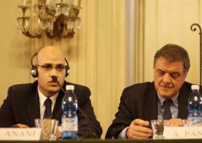 Khalil el-Anani e Pier Antonio Panzeri