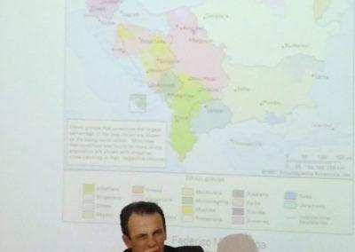 Federico Maria Bega, impegnato negli interventi di emergenza umanitaria, ricostruzione e cooperazione allo sviluppo in occasione delle guerre balcaniche, dal 1992 al 1999, sino al 2008 è stato esperto presso l'Unità Tecnico Operativa per i Balcani della Presidenza del Consiglio dei Ministri
