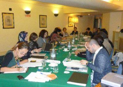 """Workshop progettuale tra insegnanti Euro-Mediterranei, Progetto """"Mediterraneo. Lo Specchio dell'Altro"""".2014, Milano"""