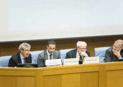 Khalid Chaouki, membro della Commissione Esteri della Camera dei Deputati, membro della Delegazione presso l'Assemblea Parlamentare del Consiglio d'Europa, membro della Assemblea Parlamentare dell'Unione per il Mediterraneo