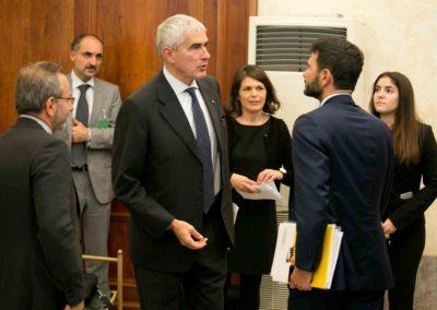 Pier Ferdinando Casini - Presidente della Commissione Affari Esteri del Senato