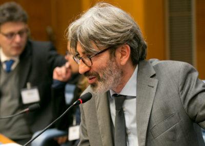 Gian Mario Gillio, giornalista del quotidiano on-line Riforma.it e dell'Agenzia stampa NEV