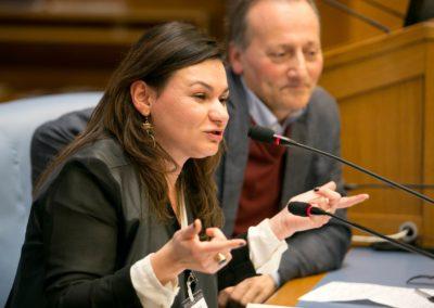 Manuela Brienza, Advisor per le Politiche per l'immigrazione dell'Assessore alle Politiche sociali del Comune di Milano