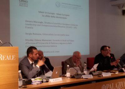 Omero Marongiu, Sergio Romano, Moulay Zidane Alamarani, Lucio Caracciolo, Silvio Ferrari, Mario Morcone, Janiki Cingoli