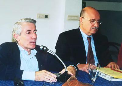 """""""Il conflitto israelo-palestinese verso il Final Status"""". 4-5 ottobre 2002, Pisa  - Assessore Toschi"""