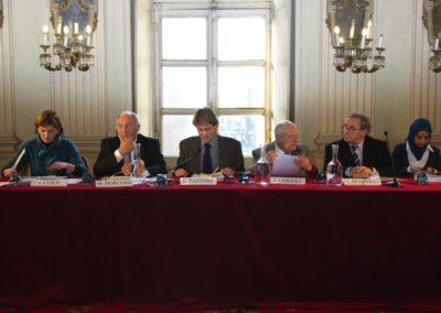 Ilda Curti, Mario Morcone, Ferruccio Pastore, Janiki Cingoli, Aldo Brandirali, Fatima Zahra