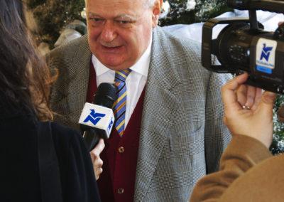 """Convegno """"Musulmani 2G: diritti e doveri di cittadinanza dei giovani musulmani di seconda generazione"""". 2009, Torino.  Janiki Cingoli, Presidente CIPMO."""