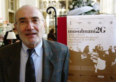 """Felice Dassetto. Convegno """"Musulmani 2G"""" 2009, Torino"""