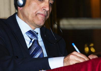 "Ataullah Siddiqui, Markfield Institute of Higher Education. Convegno ""Musulmani 2G"" 2009, Torino"