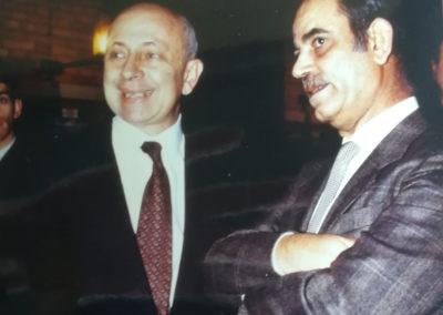 Il primo incontro ufficiale tra il Delegato dell'OLP e l'Ambasciatore israeliano