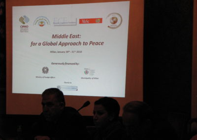 Middle East: for a Global Approach to Peace