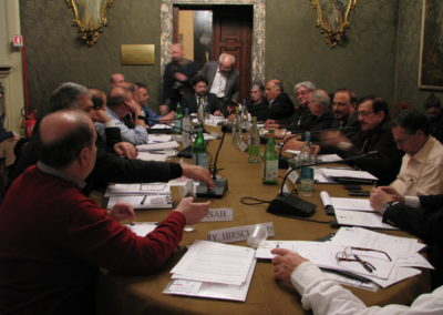 Middle East: for a Global Approach to Peace. 2010, Milano