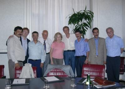 Seminario Likud-Labour-Shinui-Al Fatah. 1-4 settembre 2005, Milano