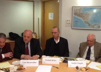 Università di Gerusalemme. Missione del Presidente della Provincia di Bolzano, Luis Durnwalder, in Israele. 2013,