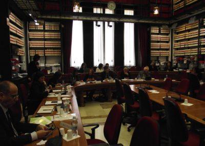 Incontro con una Rappresentanza della Commissione Pari Opportunità in occasione del seminario: Israeli and palestinian women leaders. 3-5 marzo 2011, Roma