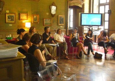 """Workshop Riservato: """"Giovani leader israeliane e palestinesi. La dignità della pace"""". 18-21 giugno 2009, Torino."""
