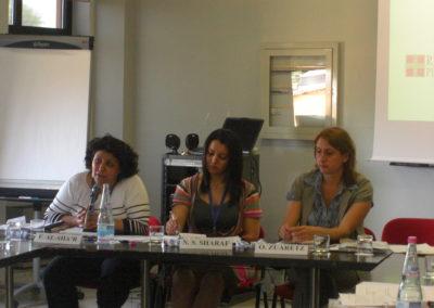 Giovani leader israeliane e palestinesi. La dignità della pace. 18-21 giugno 2009, Torino