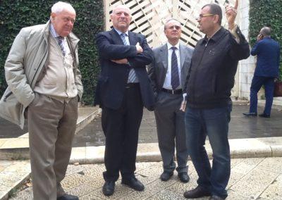 Missione del Presidente della Provincia di Bolzano, Luis Durnwalder, in Israele. 2013