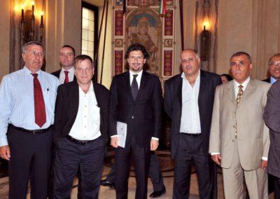 Trilateral Arragements for the Gaza Strip. 7-10 luglio 2008, Milano. Consiglio Comunale con le delegazioni;