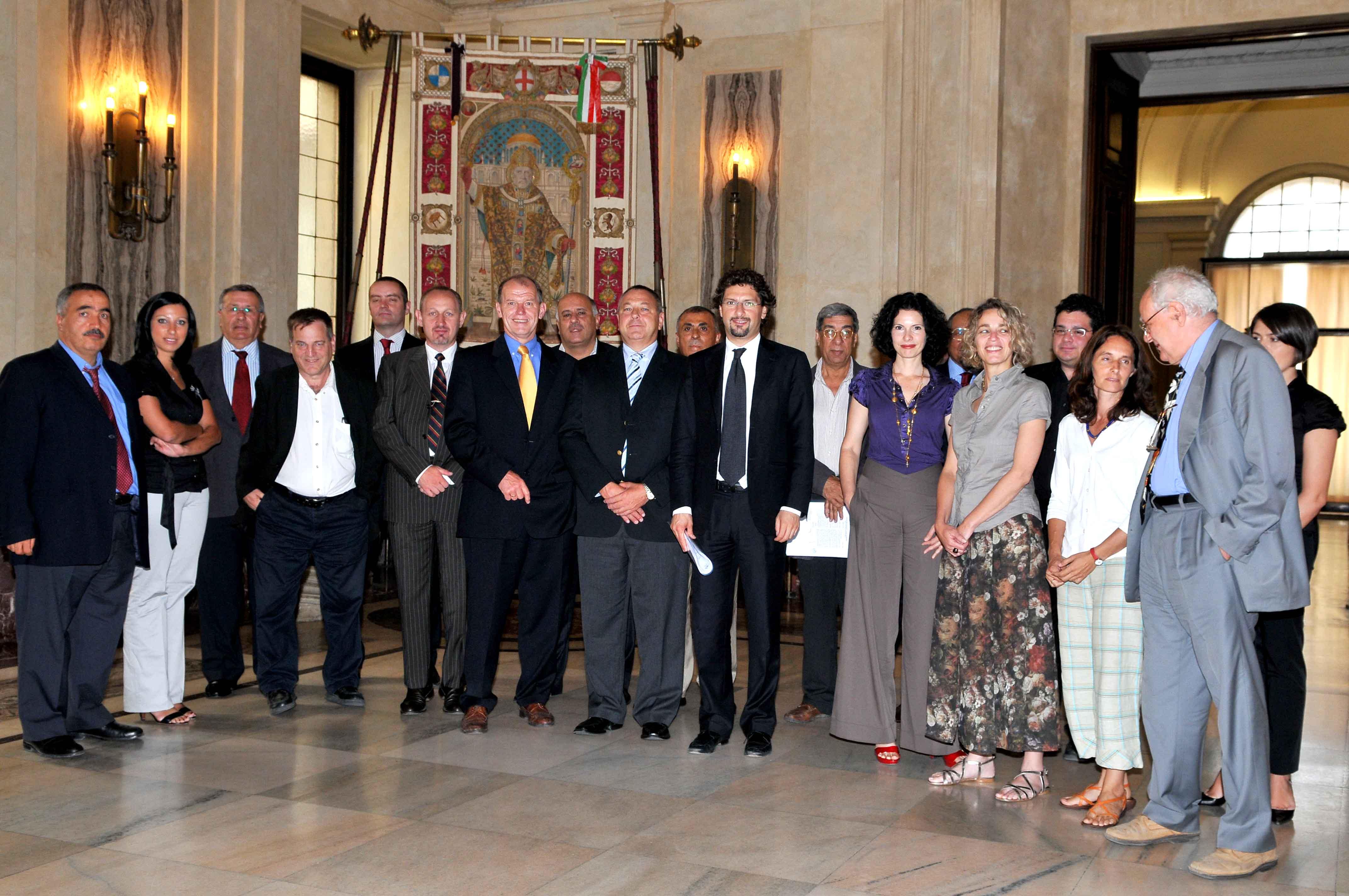 Consiglio Comunale di Milano con le delegazioni, Incontri di diplomazia informale 2008