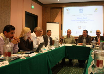 """Middle East: Local Authorities for Peace"" 15-18 Novembre 2011, Torino"