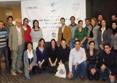 Young Political Leaders 2009, Roma. Foto di gruppo al termine dei lavori